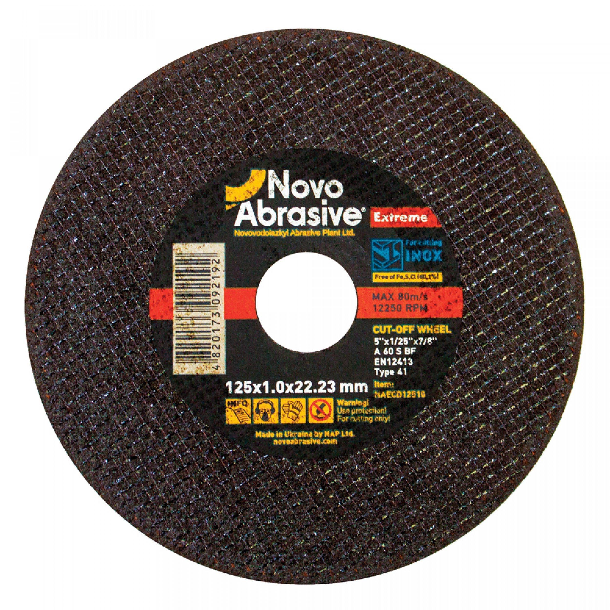 Disc  pentru metal NovoAbrasive Extreme 125x1.0x22