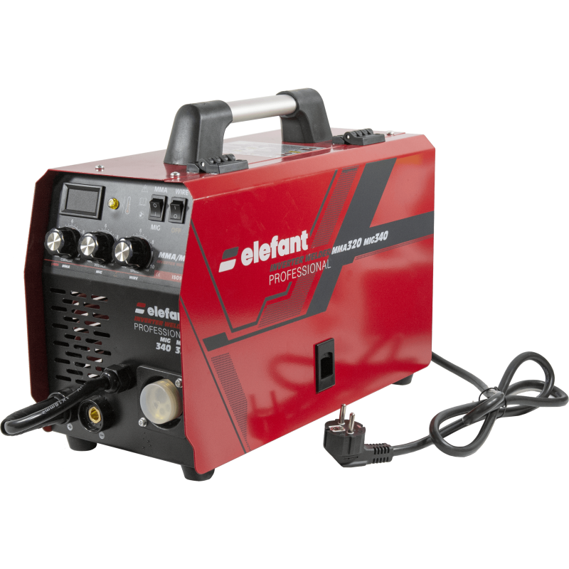 Aparat de sudat Invertor Semiautomat ELEFANT MIG-340 MMA-320