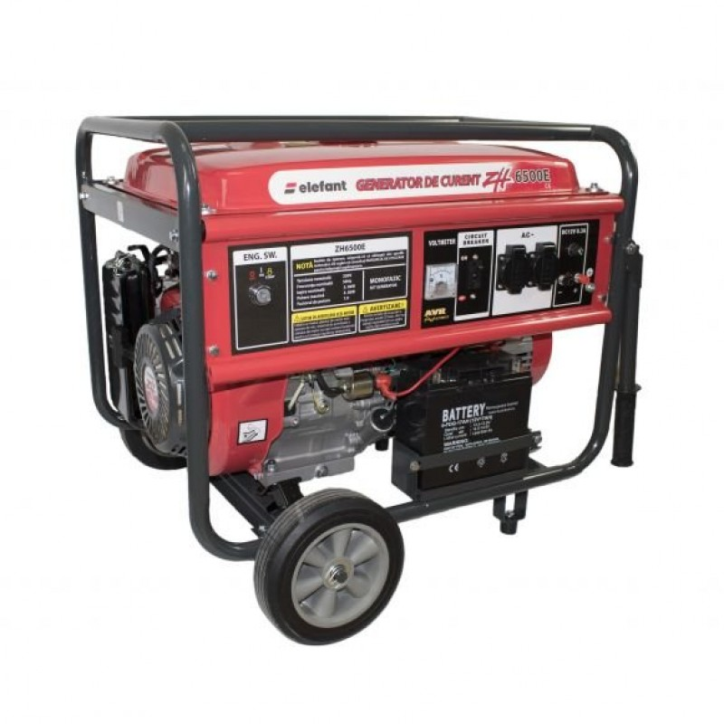 Generator pe benzina Elefant ZH6500E