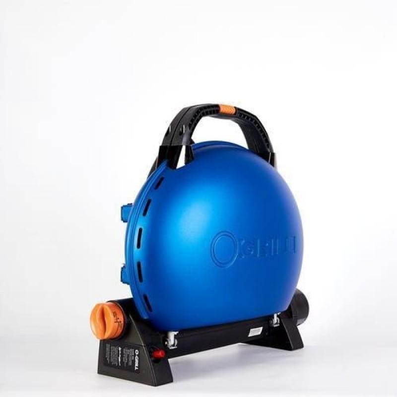 Grătar pe gaz O-GRILL 500T, albastru