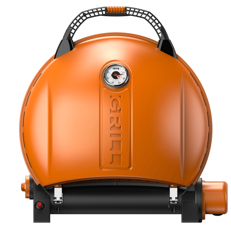 Grătar pe gaz O-GRILL 900T, Portocaliu