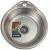 Chiuveta de bucatarie din inox Mixxus, Z4843-08-180D, 48cm x 43cm