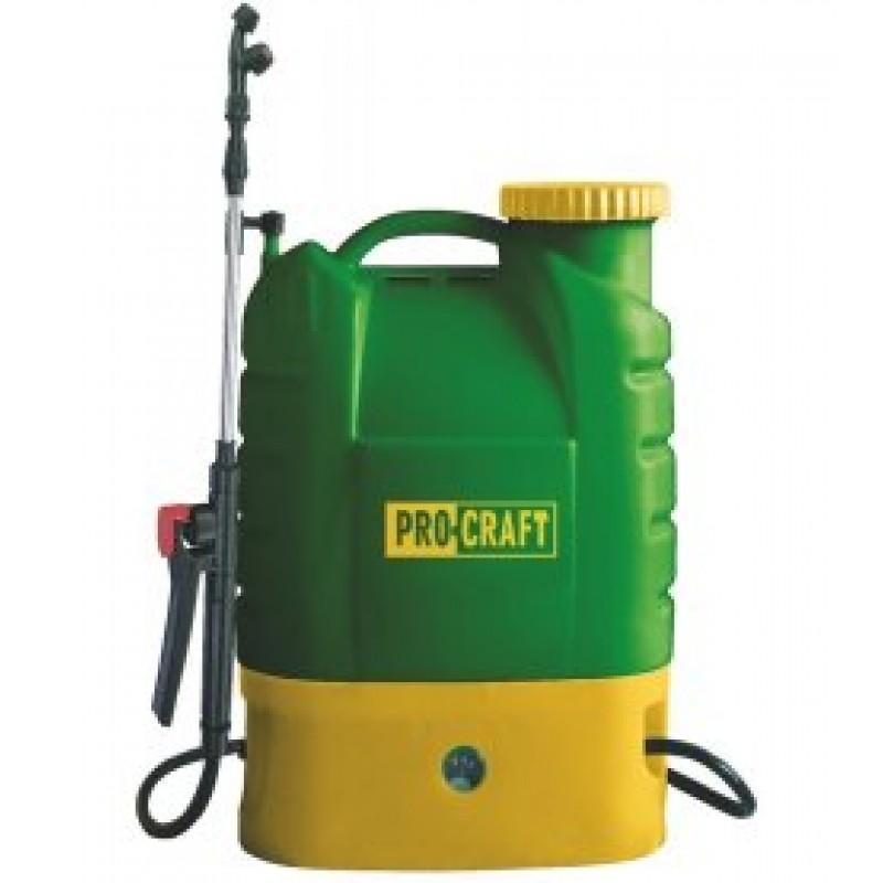 Pompa de stropit cu acumulator PROCRAFT 16L